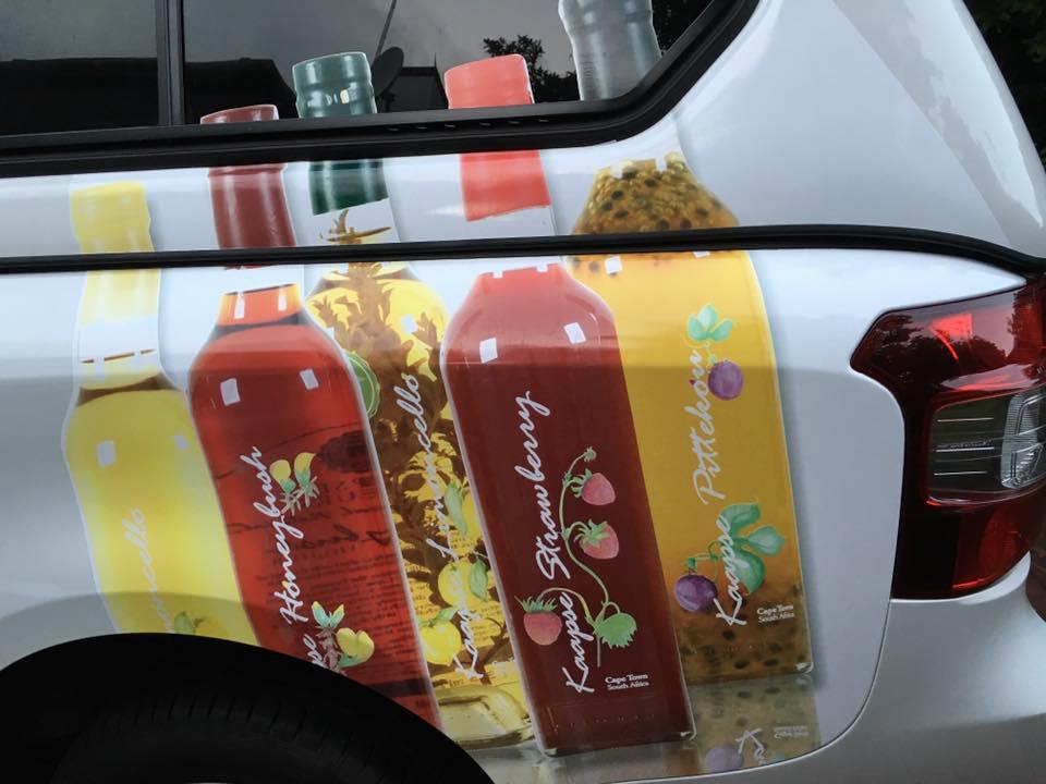 Kaapse Liqueur Vehicle Branding