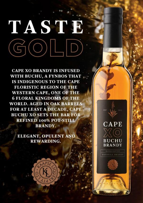 Cape XO Buchu Brandy