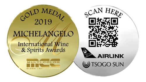 Michelangelo International Wine & Spirits Award - Gold